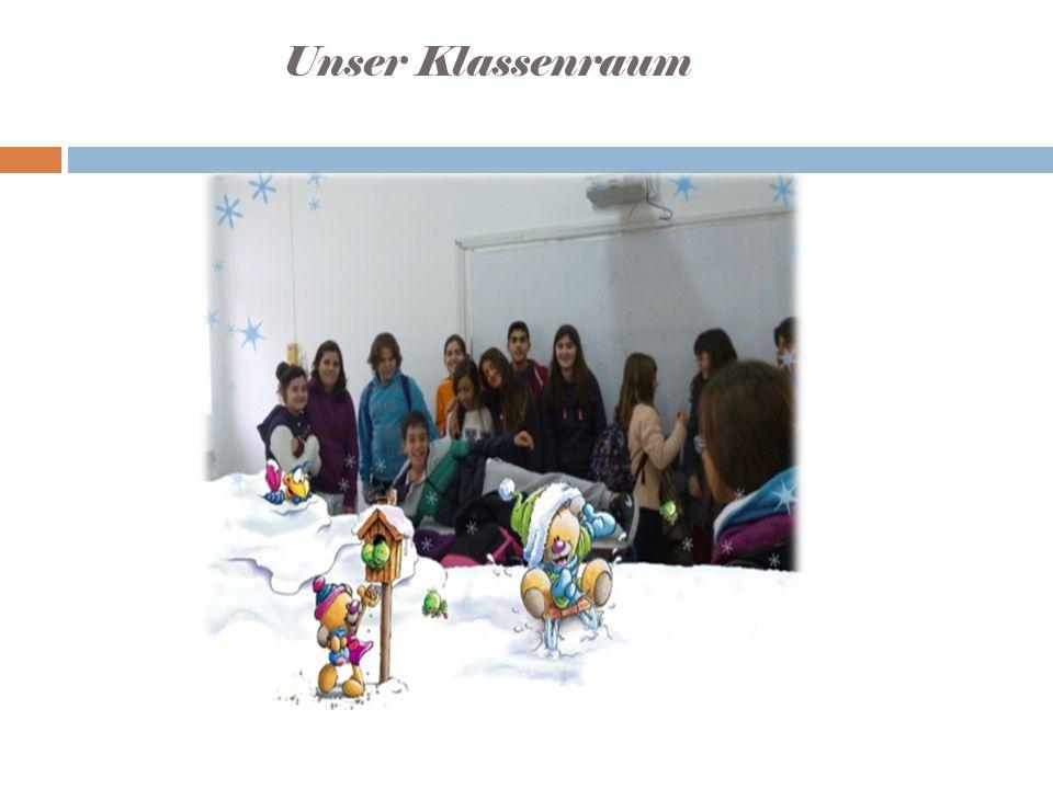 Unser Klassenraum