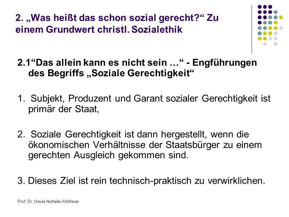 Prof. Dr. Ursula Nothelle-Wildfeuer 2.