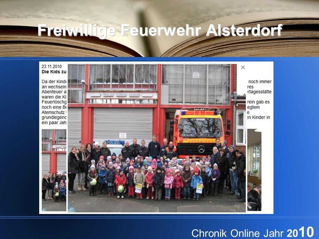 Freiwillige Feuerwehr Alsterdorf Chronik Online Jahr 20 10