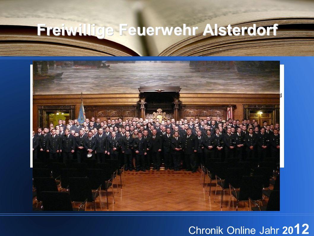 Freiwillige Feuerwehr Alsterdorf Chronik Online Jahr 20 12