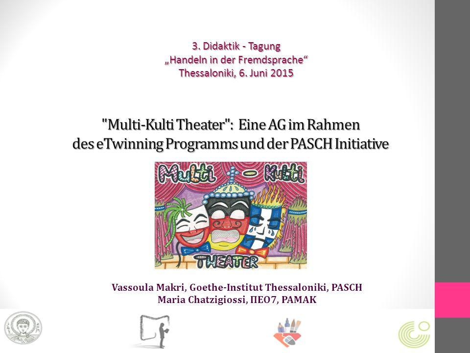 Ausgewählte Literatur zur theaterpädagogischen Arbeit http://www.ucc.ie/en/scenario/ Boal, Augusto (1989): Theater der Unterdrückten: Übungen und Spiele für Schauspieler und Nicht-Schauspieler.