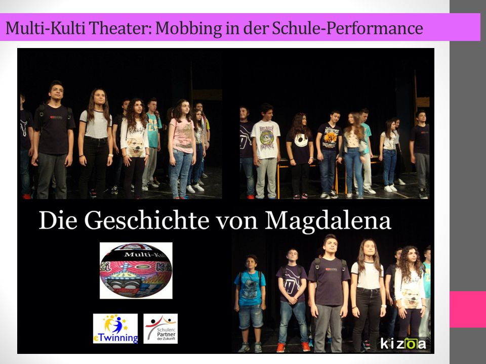 Multi-Kulti Theater: Mobbing in der Schule-Performance