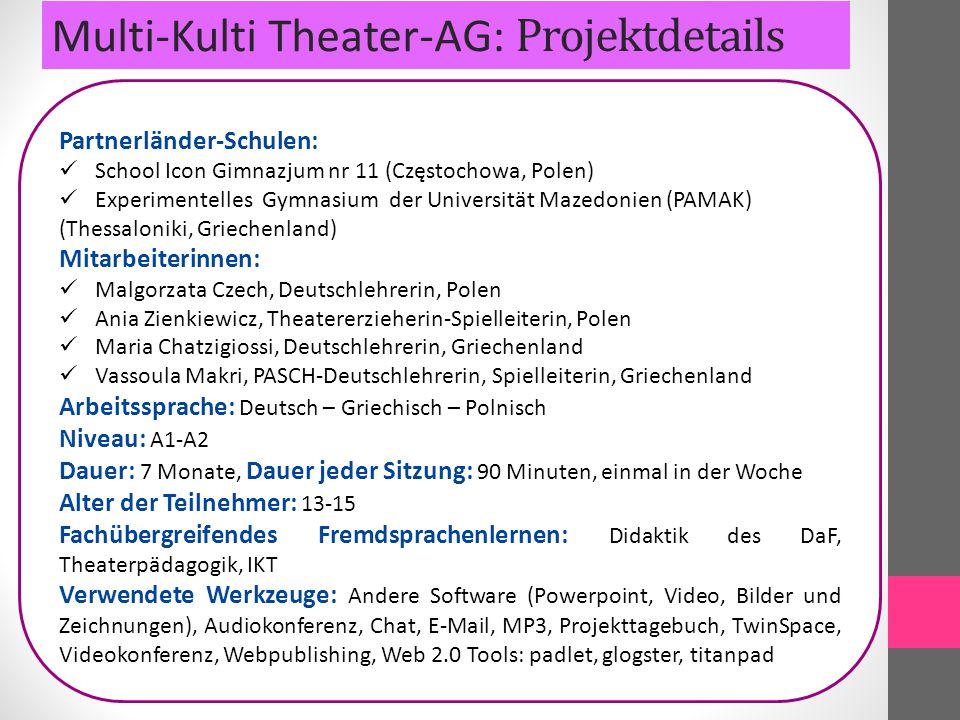 Multi-Kulti Theater: Mobbing in der Schule-Performance