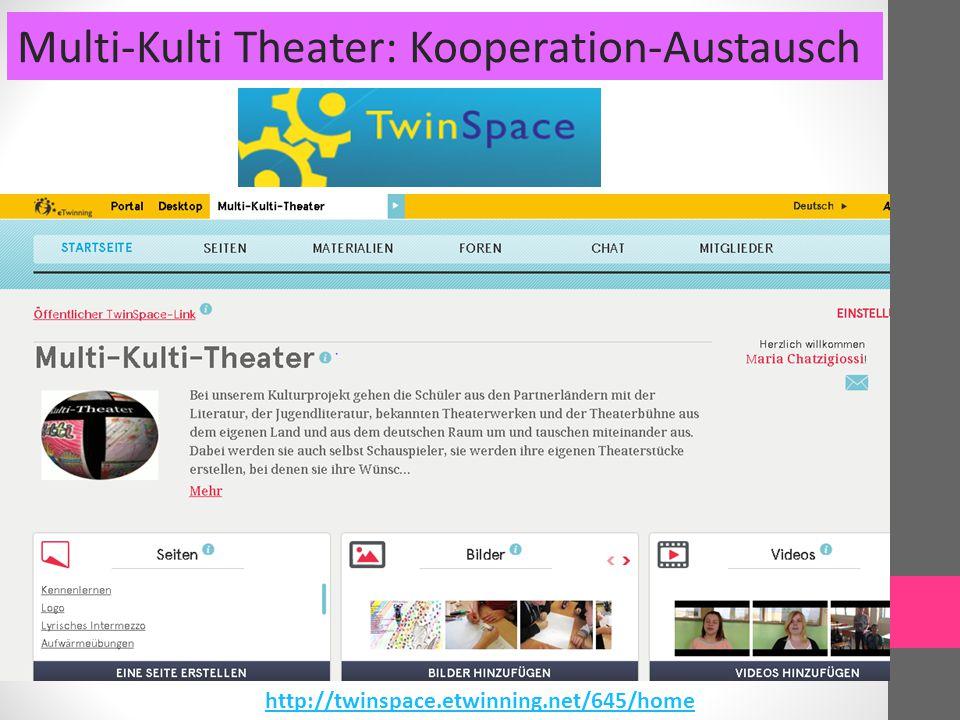 Multi-Kulti Theater: Berliner Mauer-EIN Beispiel des Austausches mit den Partnern Griechenland Polen https://youtu.be/u7EoFv46934https://youtu.be/NiDe7yCsXxE