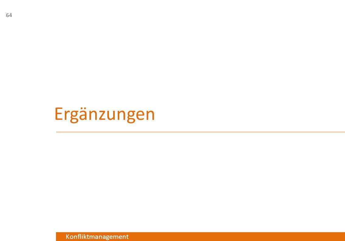 Konfliktmanagement Ergänzungen 64