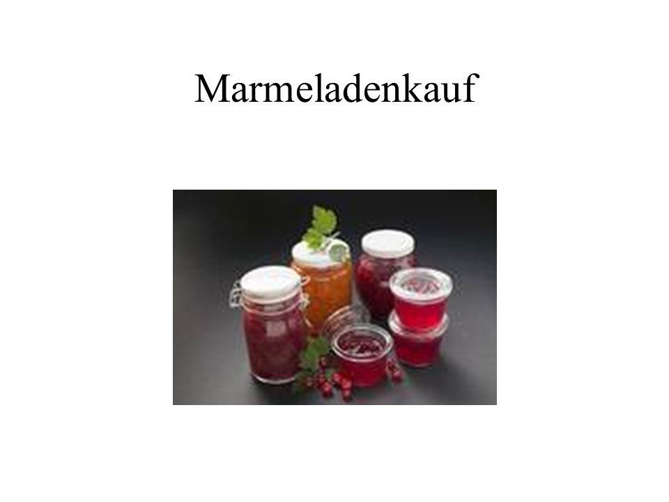 Marmeladenkauf