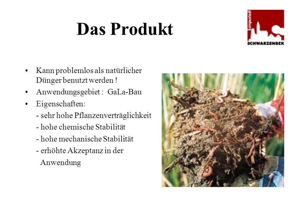 Das Produkt Kann problemlos als natürlicher Dünger benutzt werden ! Anwendungsgebiet : GaLa-Bau Eigenschaften: - sehr hohe Pflanzenverträglichkeit - h