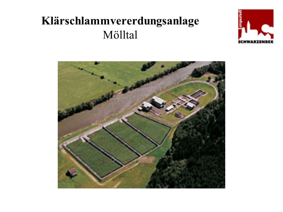 Klärschlammvererdungsanlage Mölltal