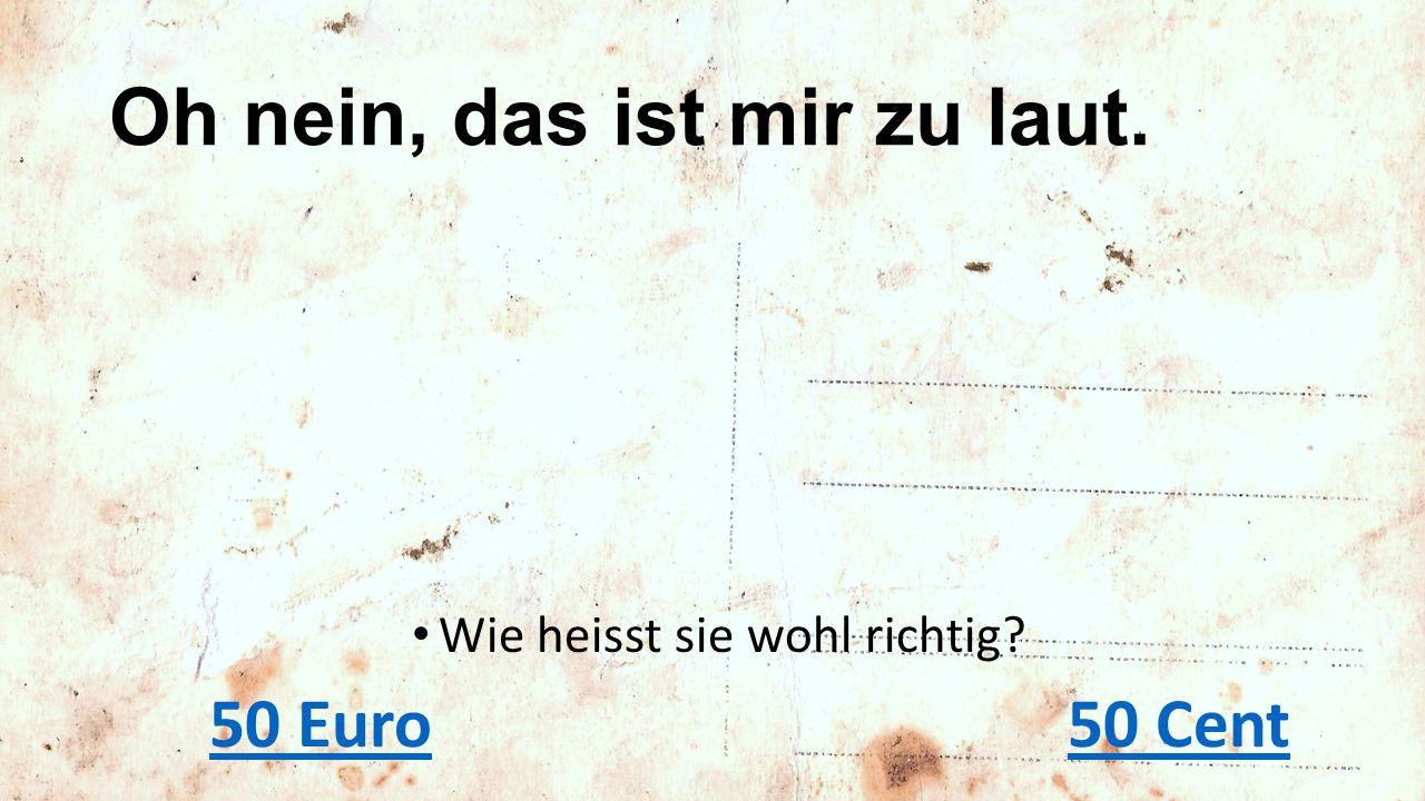 «Hansli, Echo vom Pfannenstock tönt also schon besser.