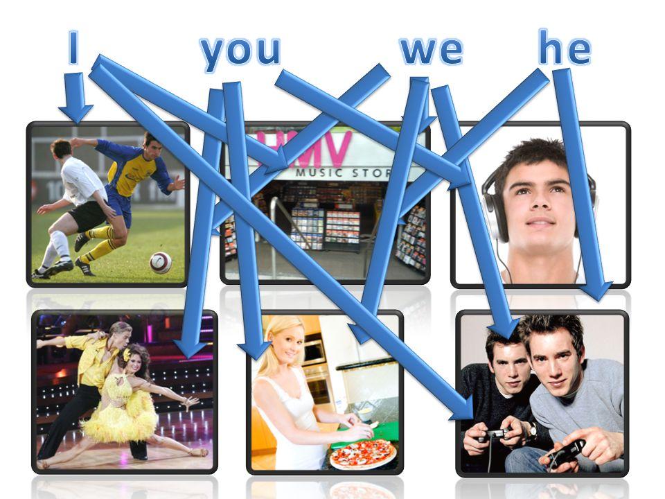 1.Ich habe einen neuen Fernseher in Dixons ____. 2.Wir haben in einem Wohnwagen________.