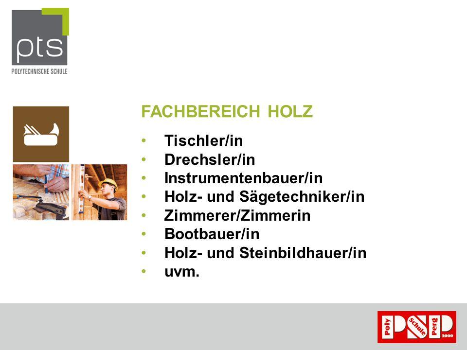 FACHBEREICH BAU Maurer Zimmerer Fliesenleger Maler Schalungsbauer uvm.