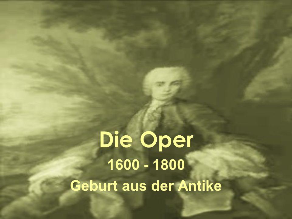 Die neapolitanische Oper Ausbildung der Nachwuchses in Konservatorien Zahlreiche Künstler z.