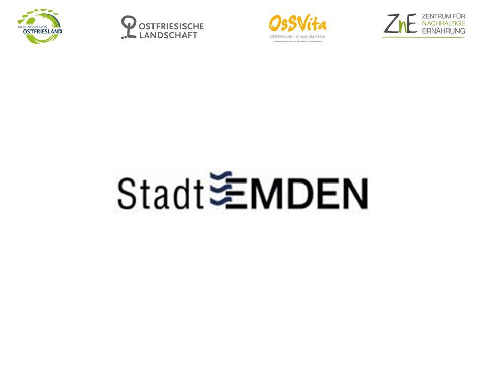 Verpflegungskonzept der Stadt Emden Verpflegungskonzept der Stadt Emden für Schulen und KiTas in städtischer Trägerschaft wurde 2012 beschlossen es beinhaltet Eckdaten mit festgelegten Qualitätsstandards unter Berücksichtigung von individuellen Erfordernissen der jeweiligen Schule bzw.