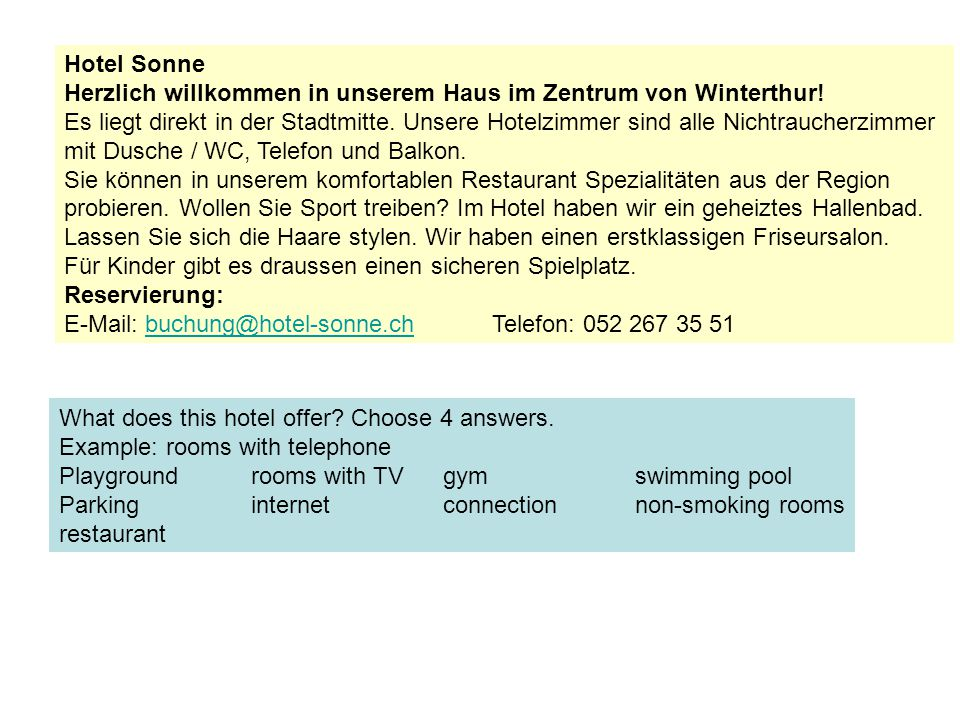Hotel Sonne Herzlich willkommen in unserem Haus im Zentrum von Winterthur.