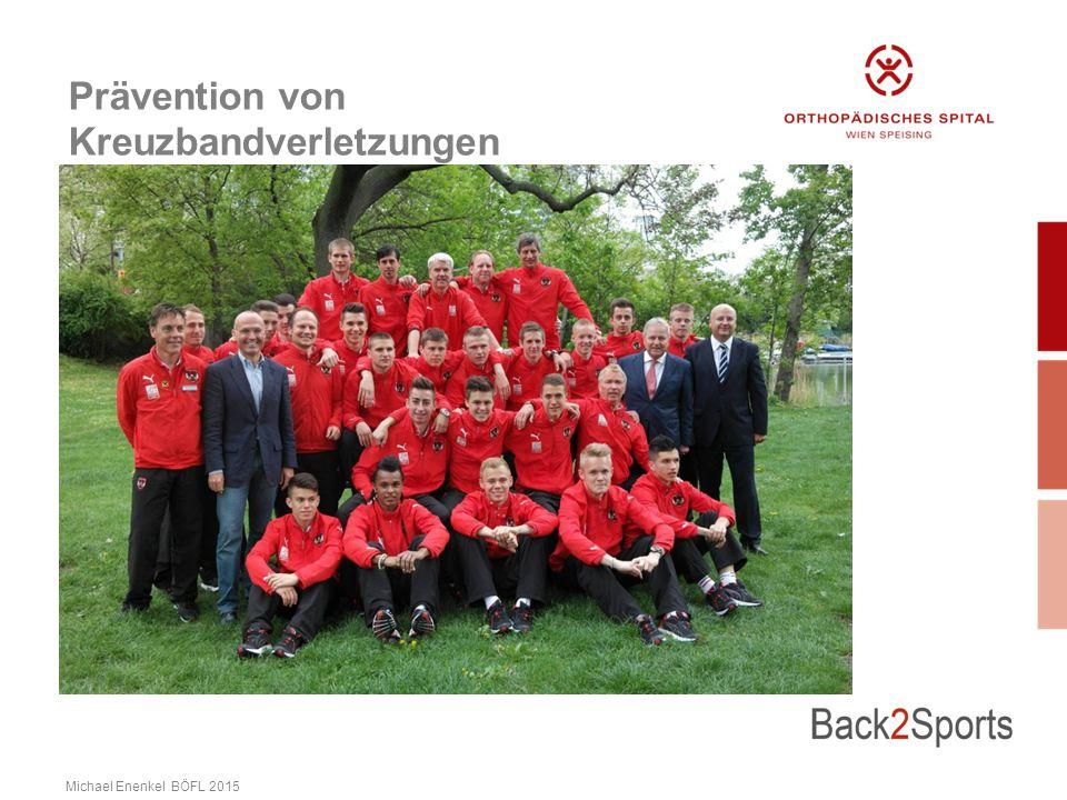Prävention von Kreuzbandverletzungen Michael Enenkel BÖFL 2015
