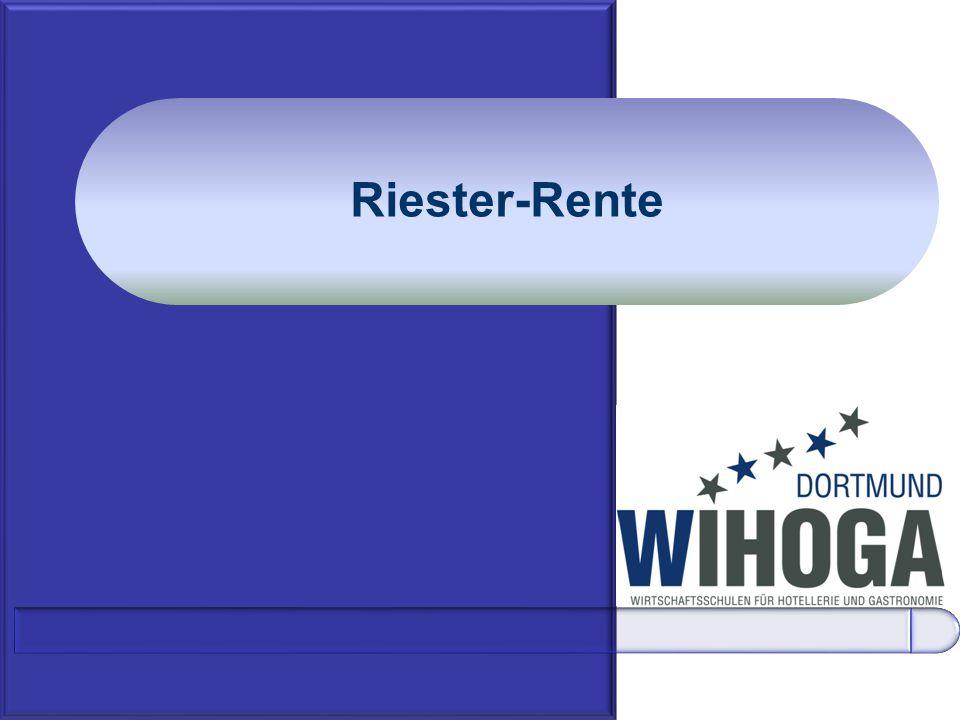 Riester-Rente