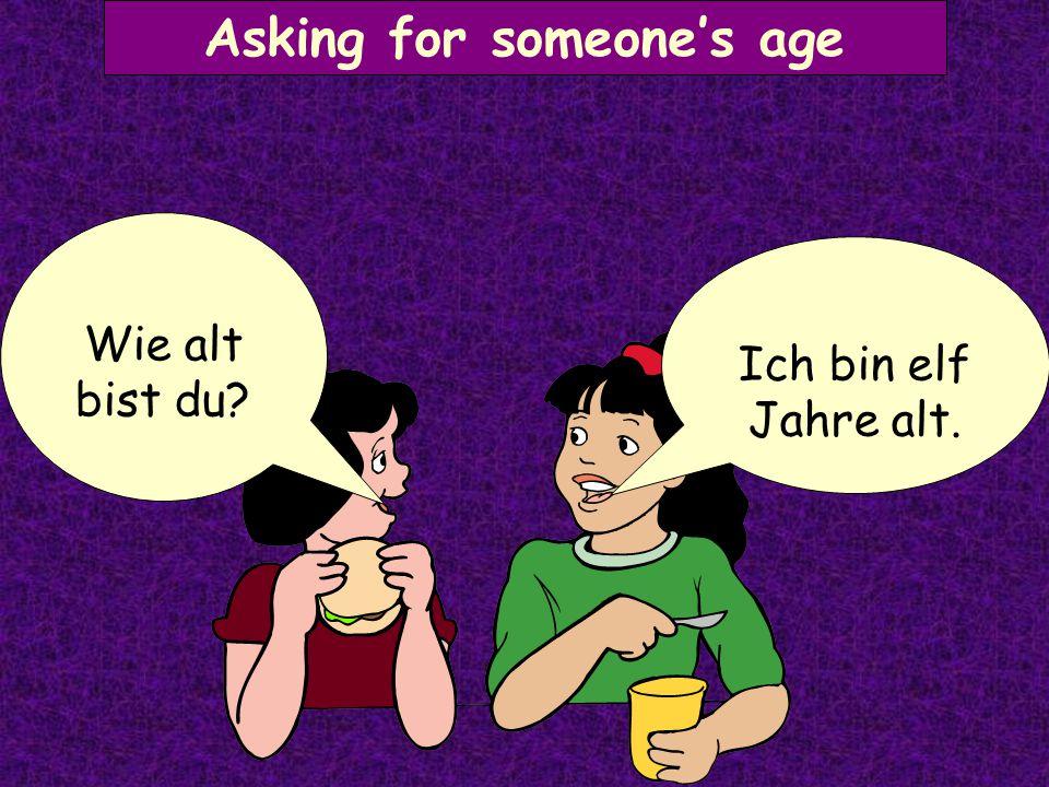 Asking for someone's name Ich heiße Lena Wie heißt du?