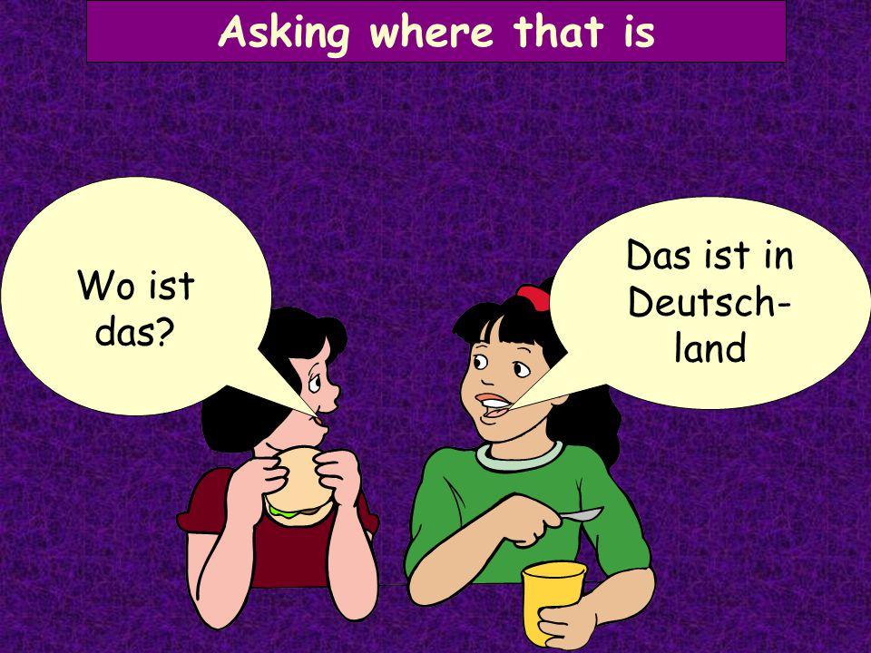 Asking where someone lives Ich wohne in Berlin. Wo wohnst du?