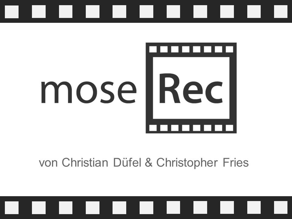 von Christian Düfel & Christopher Fries
