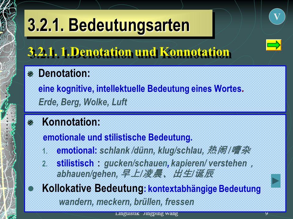 Linguistik Jingping Wang8