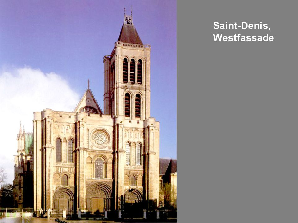 Saint-Denis, Westfassade