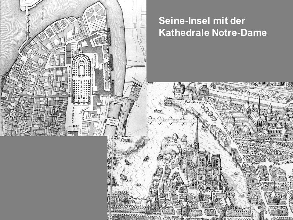 Seine-Insel mit der Kathedrale Notre-Dame