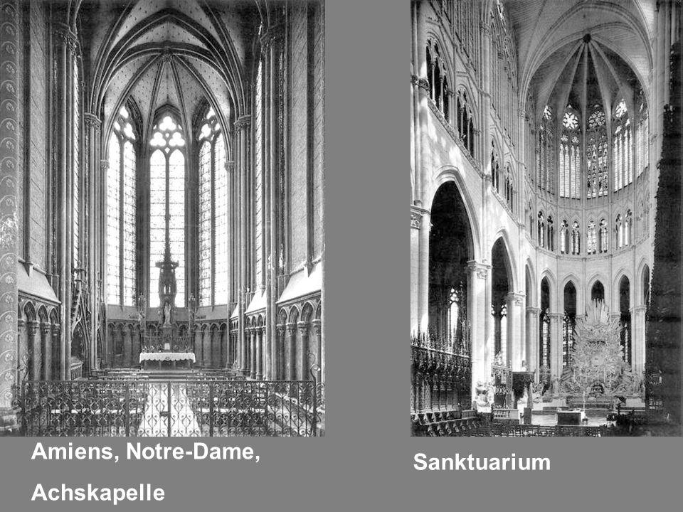 Amiens, Notre-Dame, Achskapelle Sanktuarium