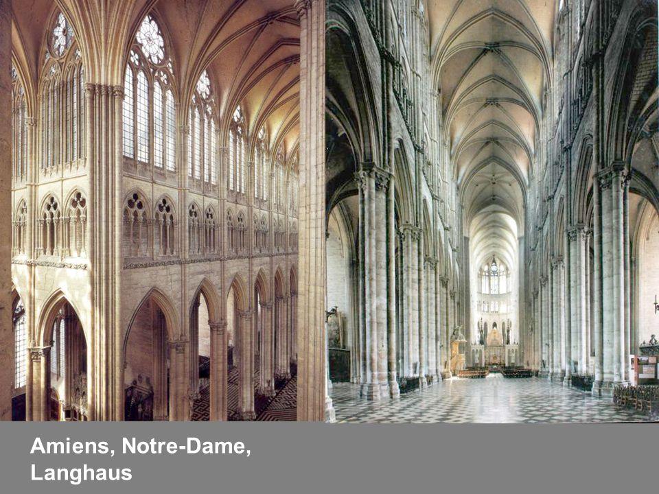 Amiens, Notre-Dame, Langhaus