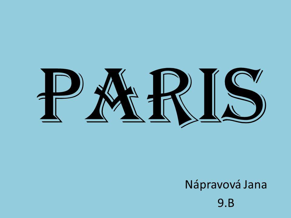 Paris ist die Hauptstadt von Frankreich. Einwohner: 2.240.621