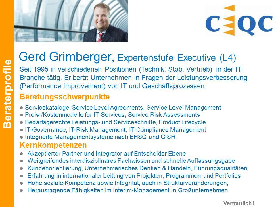 Seit 1995 in verschiedenen Positionen (Technik, Stab, Vertrieb) in der IT- Branche tätig. Er berät Unternehmen in Fragen der Leistungsverbesserung (Pe