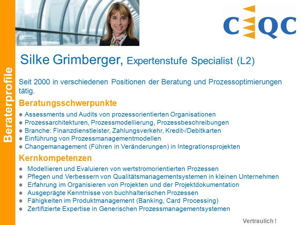 Seit 2000 in verschiedenen Positionen der Beratung und Prozessoptimierungen tätig. Beratungsschwerpunkte Assessments und Audits von prozessorientierte