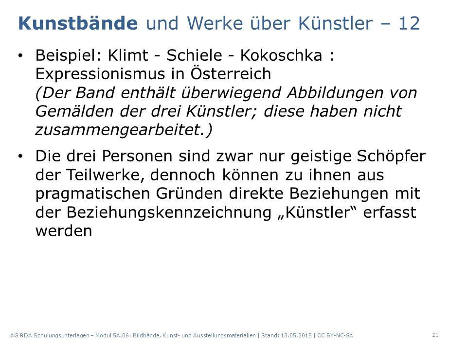 Beispiel: Klimt - Schiele - Kokoschka : Expressionismus in Österreich (Der Band enthält überwiegend Abbildungen von Gemälden der drei Künstler; diese
