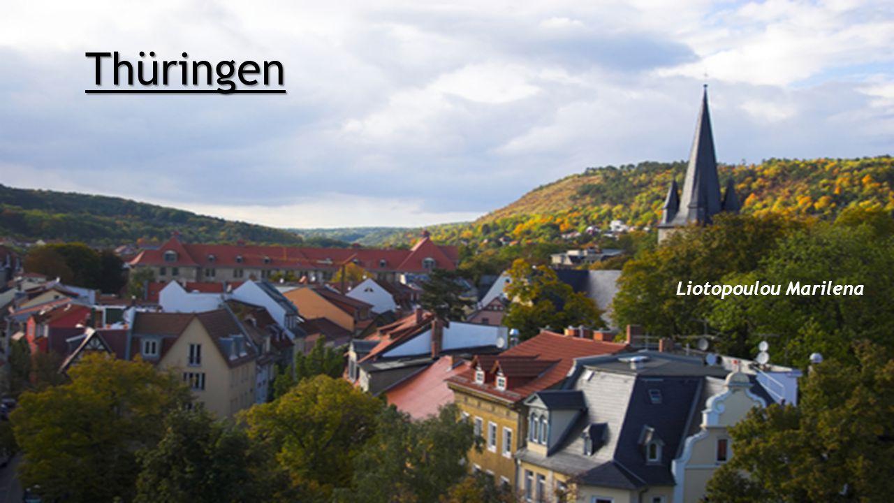 Allgemeine Informationen  Das Bundesland Thüringen liegt in der Mitte Deutschlands und grenzt somit an viele andere Bundesländer und zwar an Hessen, Sachsen, Sachsen-Anhalt, Niedersachsen und Bayern.