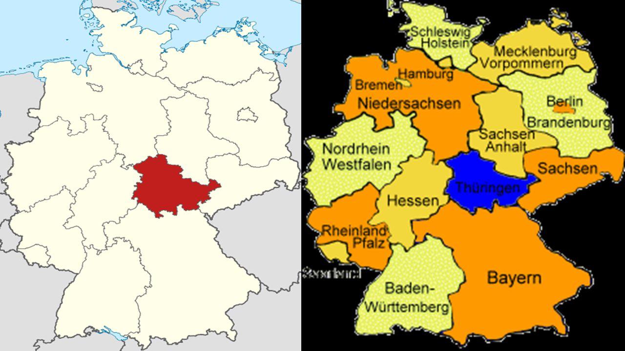 Allgemeine Informationen  2,4 Millionen Einwohner leben in Thüringen.