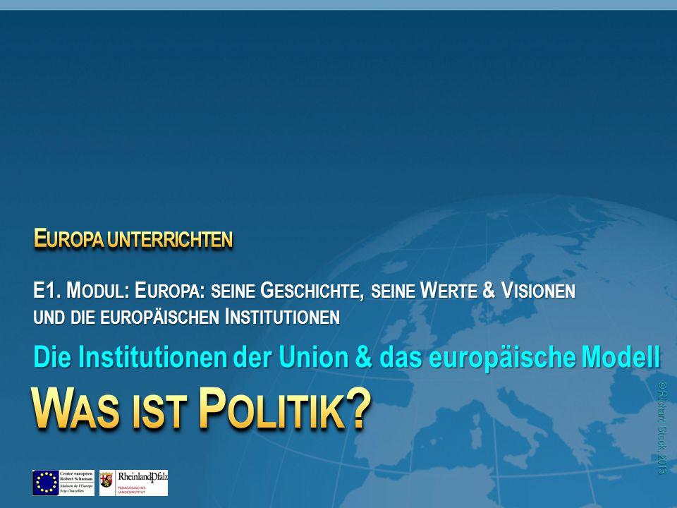 © Richard Stock, 2013 Quelle: BMWi Das europäische Politische- und Sozialmodell 44