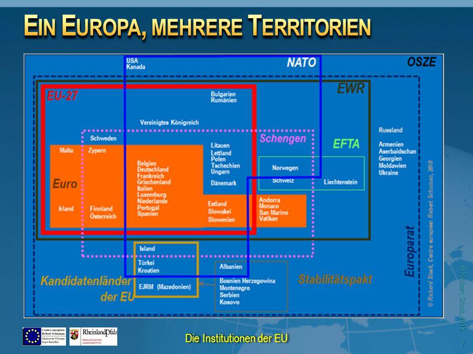 © Richard Stock, 2013 18 Die Institutionen der EU