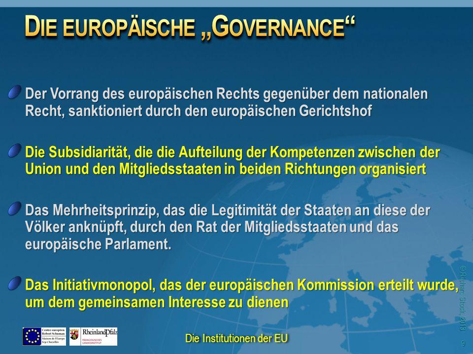 © Richard Stock, 2013 30 Die Institutionen der EU