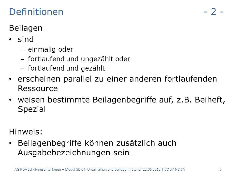 2.Erfassung Beilagen - 14 - 2.6.