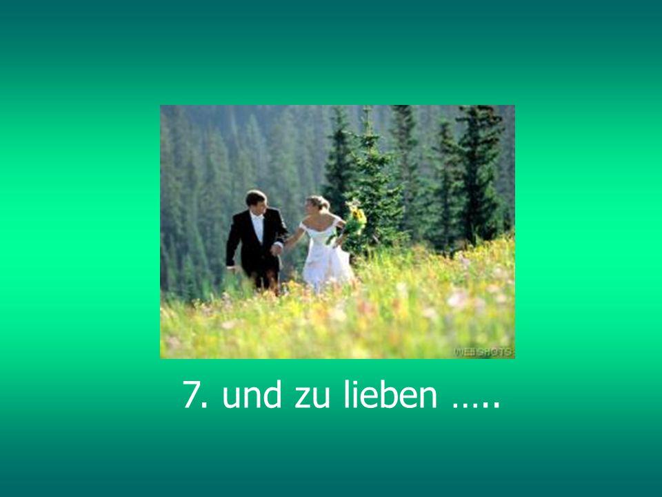 6. zu lachen…..