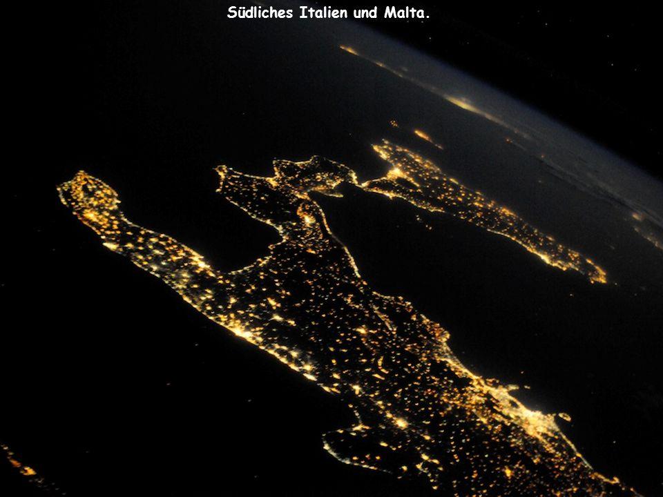 Südliches Italien und Malta.