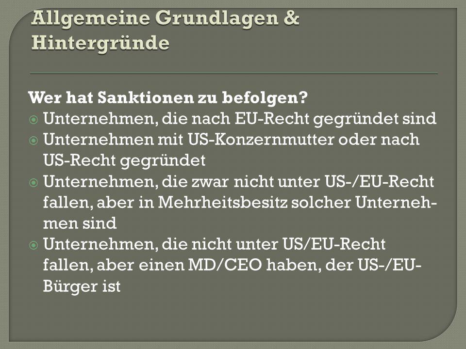  EU – Sanktionsbehörden National.