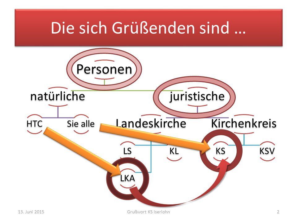 13.Juni 2015Grußwort KS Iserlohn3 Das PSO-Geheimnis Wo steht's.