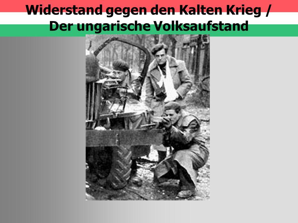 Überblick Wider- standsbewegung Volksaufstand Berlin 1953 Oktoberunruhen Polen 1956 Prager Frühling 1968 Andrei Sacharow Ungarn-Aufstand Vorgeschichte Verlauf Bedeutung Quellen Fragen.
