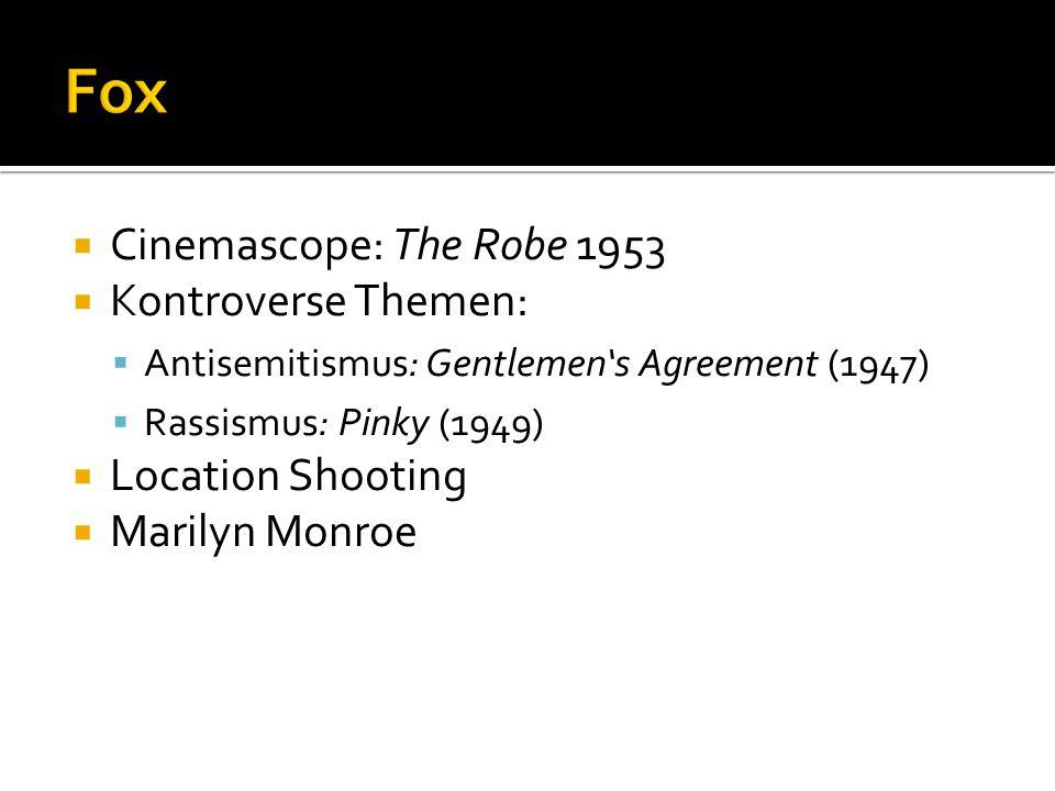  Vertrieb von Produktionen von Hitchcock, Cagney, Lancaster  First major studio to invest in 3D (House of Wax)  Doris Day
