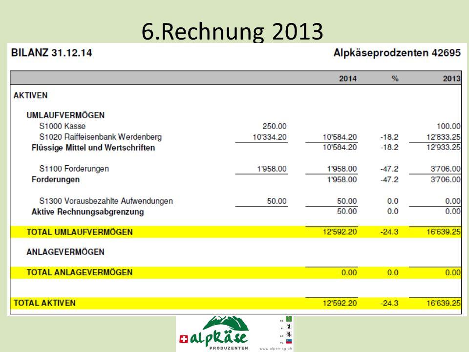 6.Rechnung 2013
