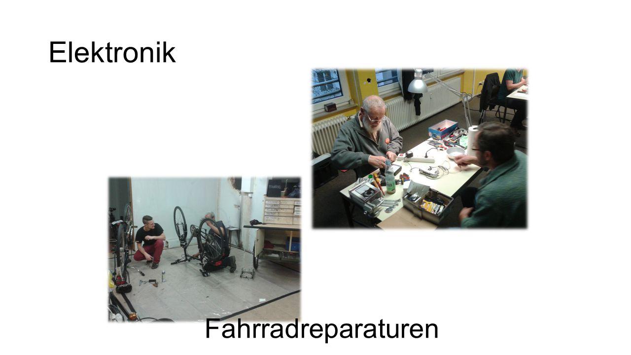 Elektronik Fahrradreparaturen