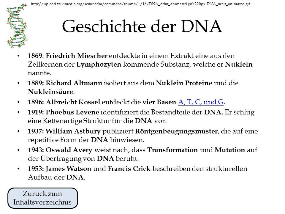 http://upload.wikimedia.org/wikipedia/commons/thumb/1/16/DNA_orbit_animated.gif/220px-DNA_orbit_animated.gif Allgemeines zur DNA DNA ist eine Abkürzung für Desoxyribonukleinsäure.