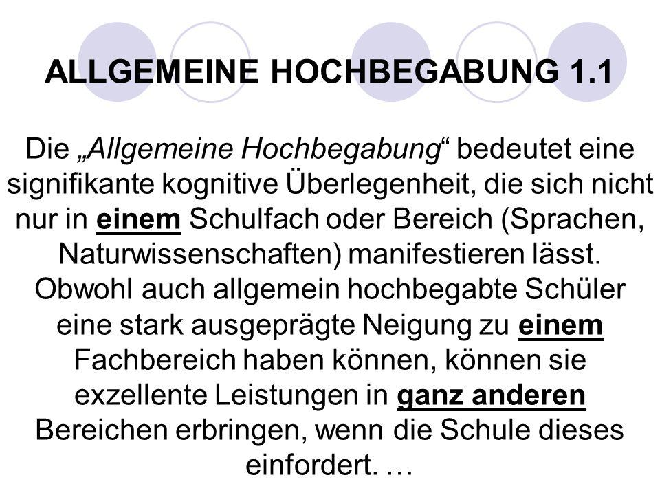 Typen von Begabten nach Franz E. Weinert (zit. n. Chr. Fischer) 1. Das ewige Talent setzt sein Talent nicht um 2. Der geniale Dilettant Großes Halbwis