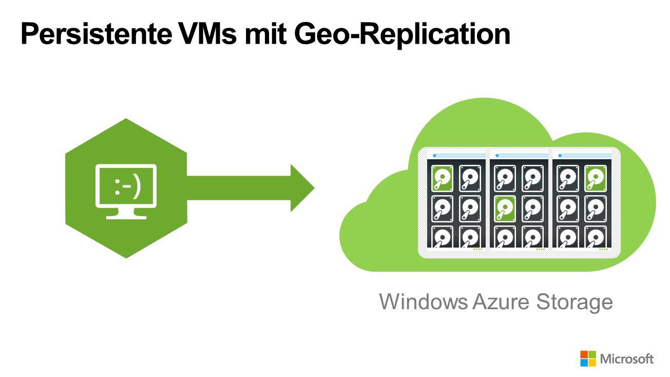 Persistente VMs mit Geo-Replication