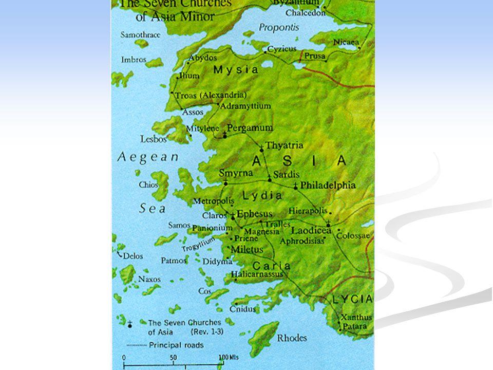 Die 1. Missionsreise des Paulus ca. 48 n. Chr.